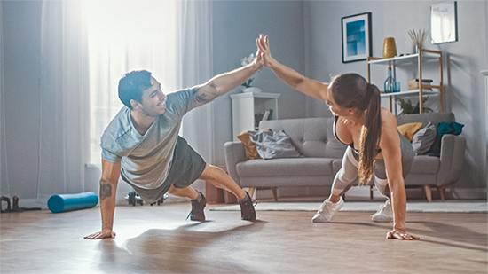 Fertility-Friendly Exercise From Home