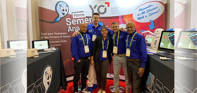 Thank You for Joining YO Home Sperm Test at the 2019 CES Show in Las Vegas